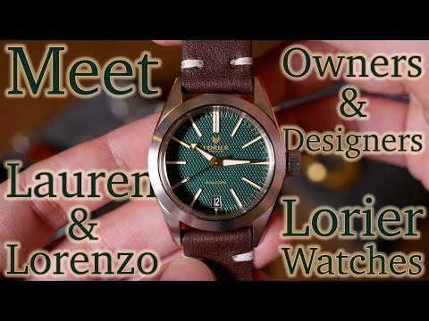 Take Time, w/Lauren & Lorenzo Ortega - Owners of Lorier Watches - What Makes Lorier Special?