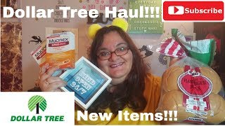 Dollar Tree Haul April 8 2019 - Mucinex For A Dollar!!! - New And Interesting Items