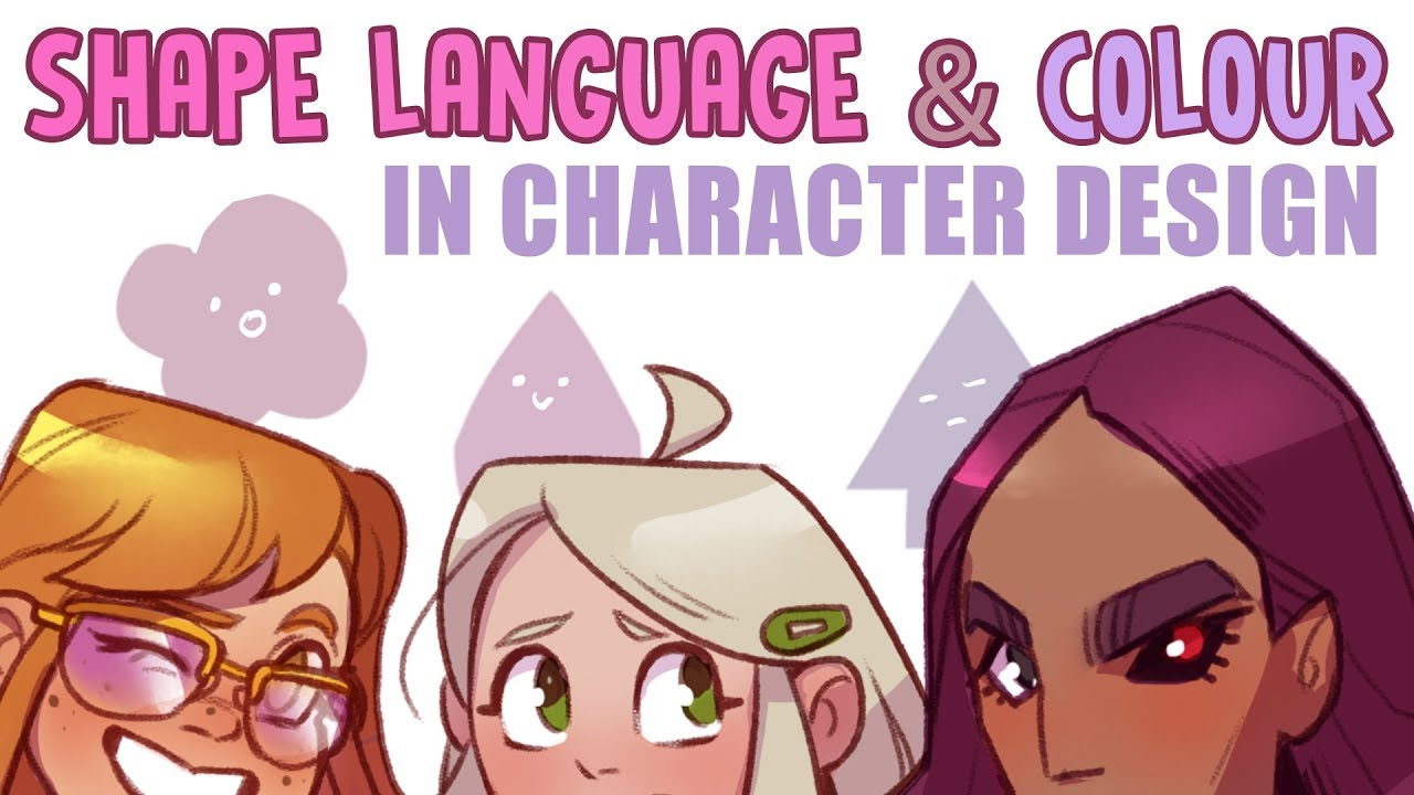 Character Design Lineup : Shape language colour nathh character lineup speed