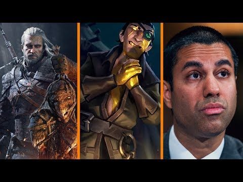 The Witcher Dev vs Lootboxes + Free Games This Weekend + FCC Boss Investigated - The Know