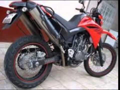xt 660 vermelha
