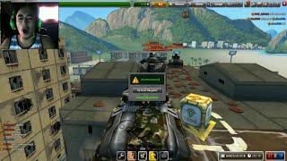 Save The Gold #2 - Tankionline   FORK GETS PRANKED!!