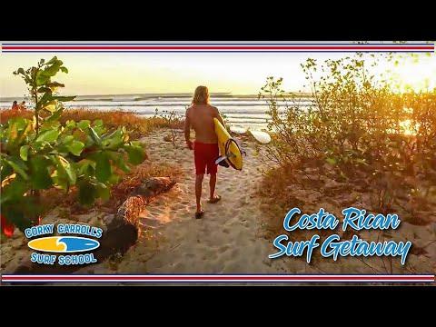 Tour of Corky Carroll's Surf School Costa Rica