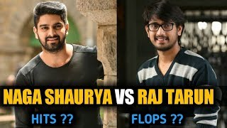 Raj Tharun VS Naga Shaurya All movies hit or flop list | Raj Tarun VS Naga  | Mirchi Media |