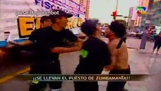 Repeat youtube video COMBATE: Broma a Zumba. Serenazgo se lleva sus Peluches. PRIMERA PARTE 11/01/13
