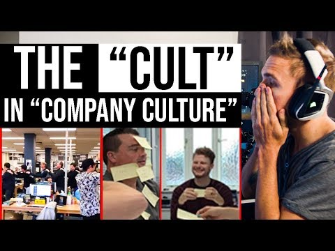 The Cult In Company Culture Corporate Cringe Grindreel