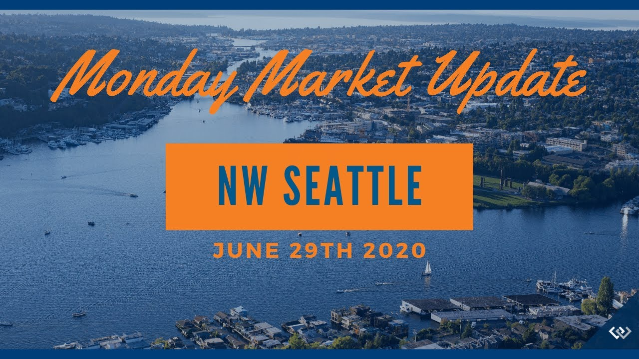 Monday NW Seattle Real Estate Market Update June 29th, 2020