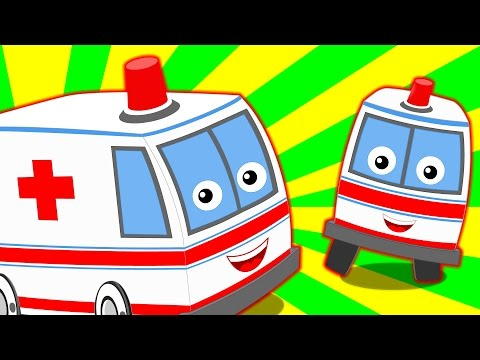 Ambulance Song  Nursery Rhymes For Kids And Childrens  Vehicle Song kids tv