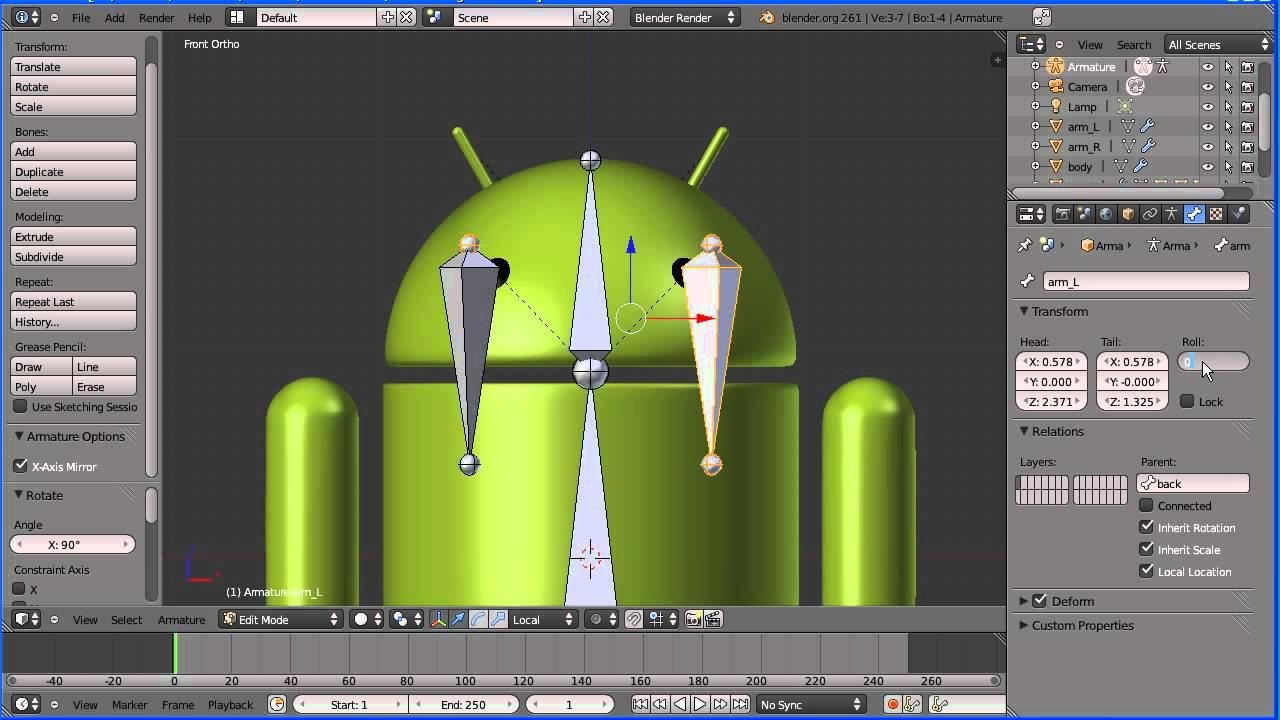 suurin alennus puhdistushinnat myyntipiste myytävänä Blender Introduction to Rigging - Adding an Armature to a Google Android  (New Version)