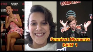 Millie Bobby Brown FUNNY Moments PART 1