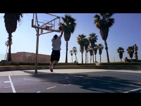 """TFB::Dunks:: 5'9"""" TDub Dunk Session with ESPN SportsNation's Michelle Beadle - Over Car"""