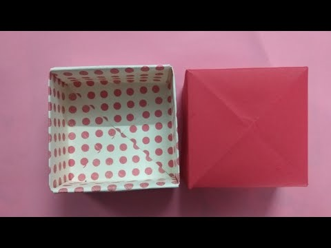 Paper box- Origami jewellery box