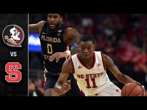 Florida State vs. NC State Basketball Highlights (2017-18)