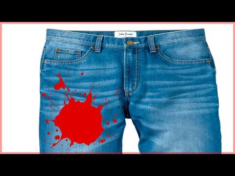 Чем отмыть краску масляную с джинсов в домашних условиях