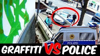 GRAFFITI Rooftop Bombing Vs. POLICE - Daytime Action - SUCUK 2018