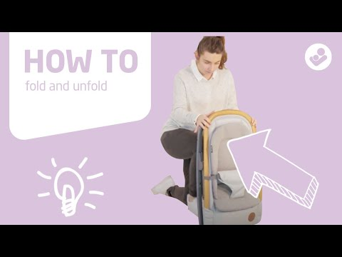 Maxi-Cosi | Kori | How to fold and unfold