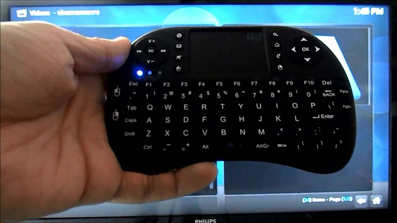 Review: i8 Wireless Keyboard - The Almost Perfect Kodi/XBMC Keyboard