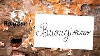 bonjour 3 italien