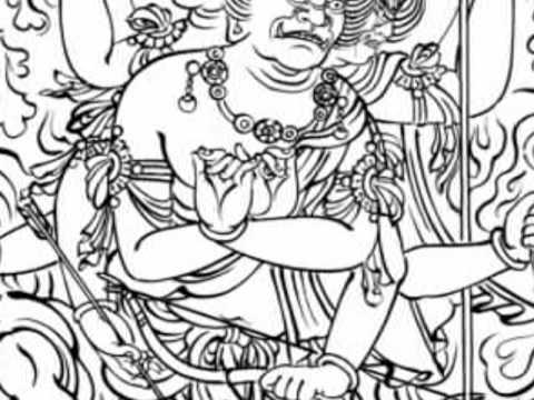 2009-60降三世明王Trailokya vijaya