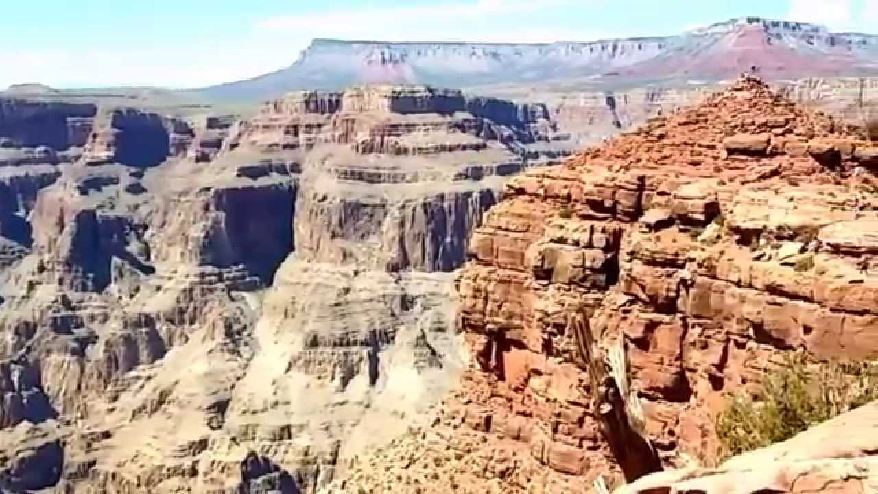 США. Гранд каньон. Древний лифт в пещеру. Аризона.