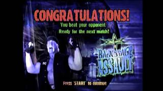 WCW Backstage Assault N64 Day 6 12 Days Of Retro Gaming