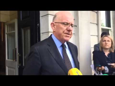 Minister for Foreign Affairs Charlie Flanagan speaks following attack in Tunisia