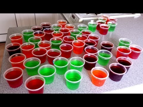 50 Jell-O Cup Challenge
