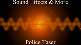 Police taser gun (stun gun)  -  Sound effects