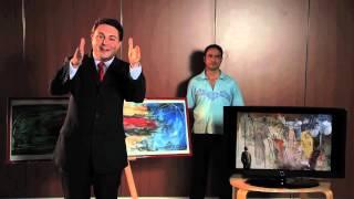 IL CRITICO D' ARTE Prof. ANDREA DIPRE' presenta SIMONE LECCA _ PUNTATA n° 7