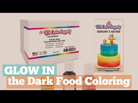 Glow In The Dark Food Coloring Cool Glow In The Dark
