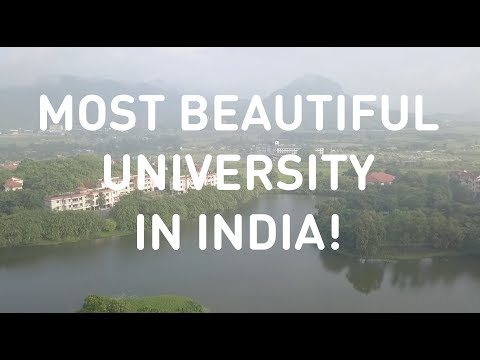 MOST BEAUTIFUL UNIVERSITY IN INDIA!