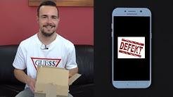 Defektes Samsung Smartphone - Meine Erfahrungen mit dem Reparatur-Service | SwagTab