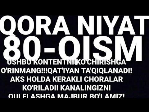 QORA NIYAT 80-QISM O'ZBEK TILIDA(TURK SERIALI) -  КОРА НИЯТ 80-КИСМ УЗБЕК ТИЛИДА (ТУРК СЕРИАЛИ)