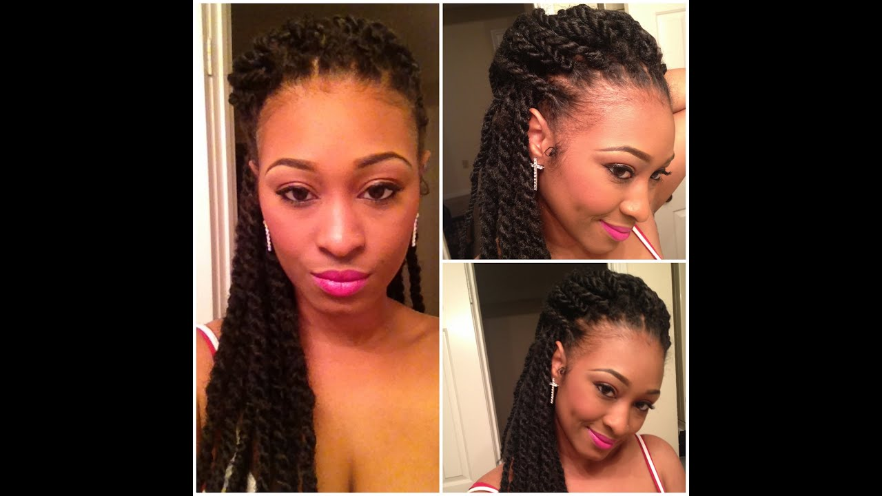 Show Tell Mini Havana Twists Protective Style For Natural Hair You