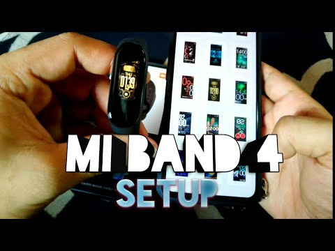 How to setup mi band 4 (Malay) review
