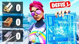 INTERDIT DE CONSTRUIRE SUR FORTNITE ... (DEFIS TOP 1 FORTNITE)