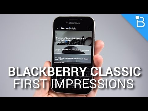 BlackBerry Classic First Impressions