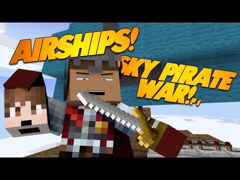 Minecraft AIRSHIP BATTLE Mod!