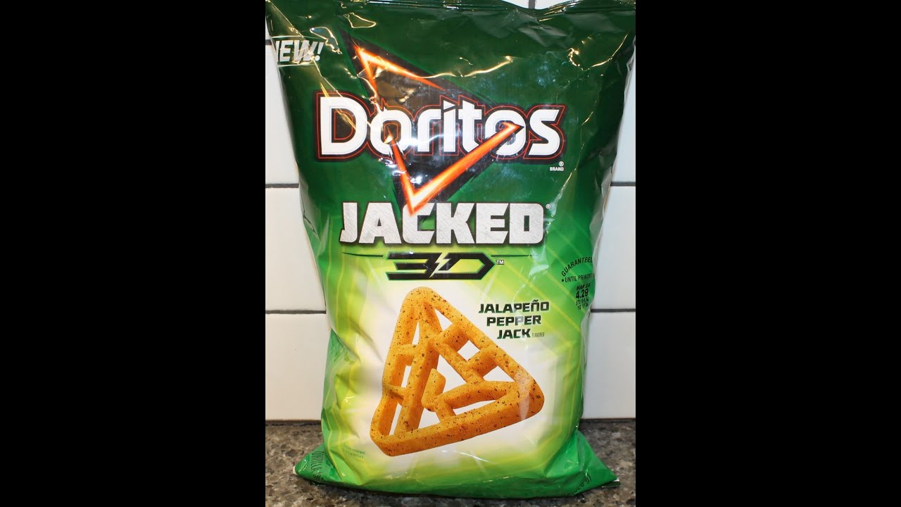 Doritos Jacked 3D Jalapeno Pepper Jack Review - YouTube 3d Doritos