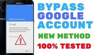 NEW METHOD ALL SAMSUNG BYPASS GOOGLE ACCOUNT S7 S8 S9 S10plus S10 ALL SECURITY PATCH LEVELS-2019