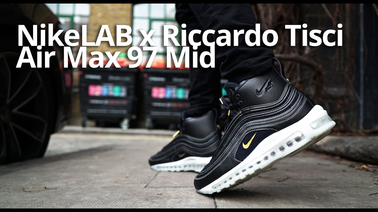 Riccardo Tisci x Nike Air Max 97 Mid On Foot & Review
