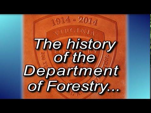 Va. Dept. of Forestry's 100th Anniversary