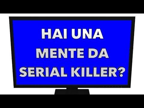 HAI UN CERVELLO DA SERIAL KILLER? Test Psicologico Reale