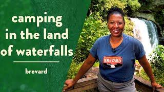 Camping in Brevard, tнe Land of Waterfalls