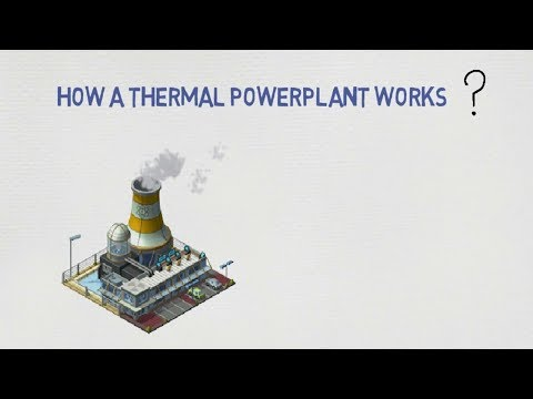 Coal Fired Power Plant (Thermal Power Plant) - How it works?