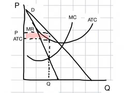 Monopolistic Competition Graphs
