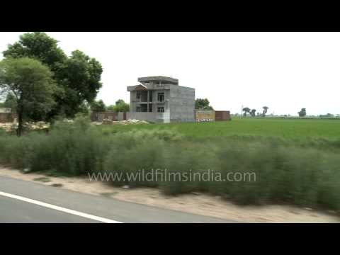 Houses in rural Punjab