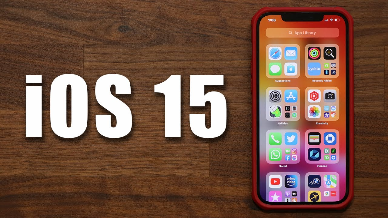 iOS 15 is OUT  Top New Features u0026 Changes You Need To Know iPhone 13 12 etc