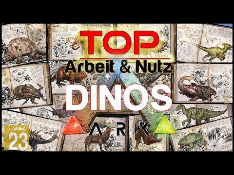 ARK: Die besten Arbeits & Nutz Dinos ✩ TOP LIST ✩ [INFO/Guide/Deutsch]