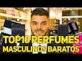 TOP 10 PERFUMES BARATOS IMPORTADOS MASCULINOS
